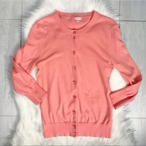 J. Crew Factory Clare Cardigan Sweater Size Small